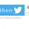 IFTTTを使うとInstagramからTwitterに写真付き投稿に早変わりするよ!